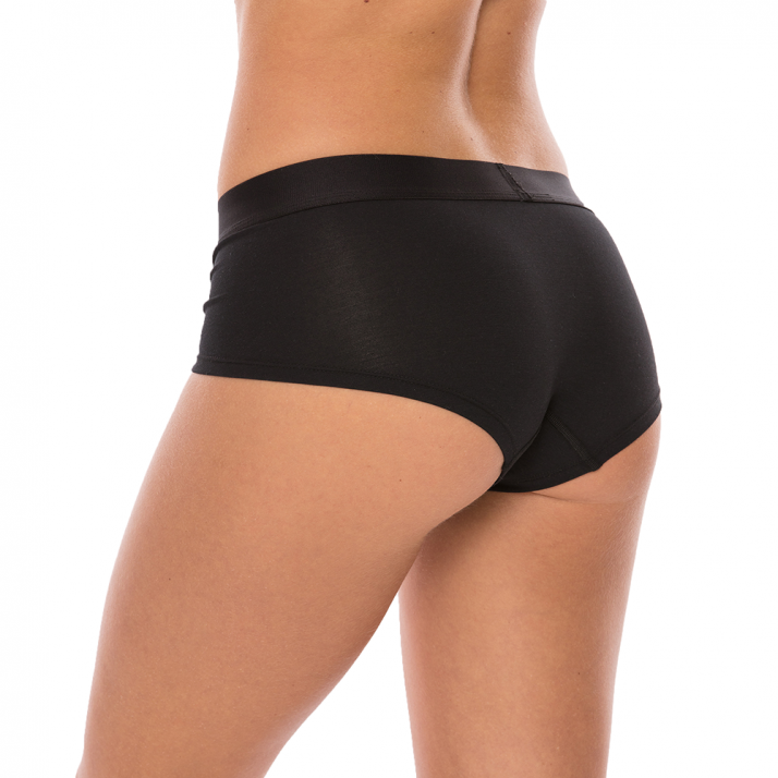 Comfyballs Womens Hipster Wood Black
