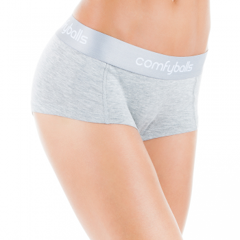 Comfyballs Womens Hipster Wood Grey