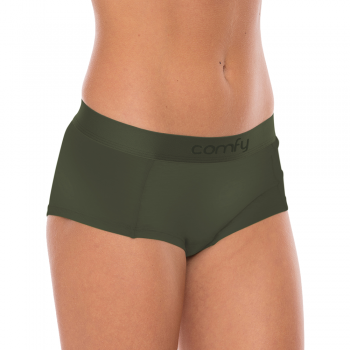 Comfy Womens Hipster Wood Olive
