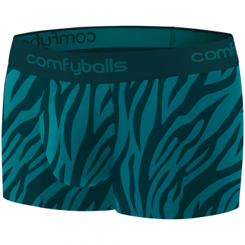 Comfyballs Cotton Regular Zebra Spruce Boxer LIMITED EDITION