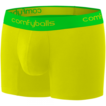 Comfyballs Performance Superlight Long Mellow Yellow Boxer