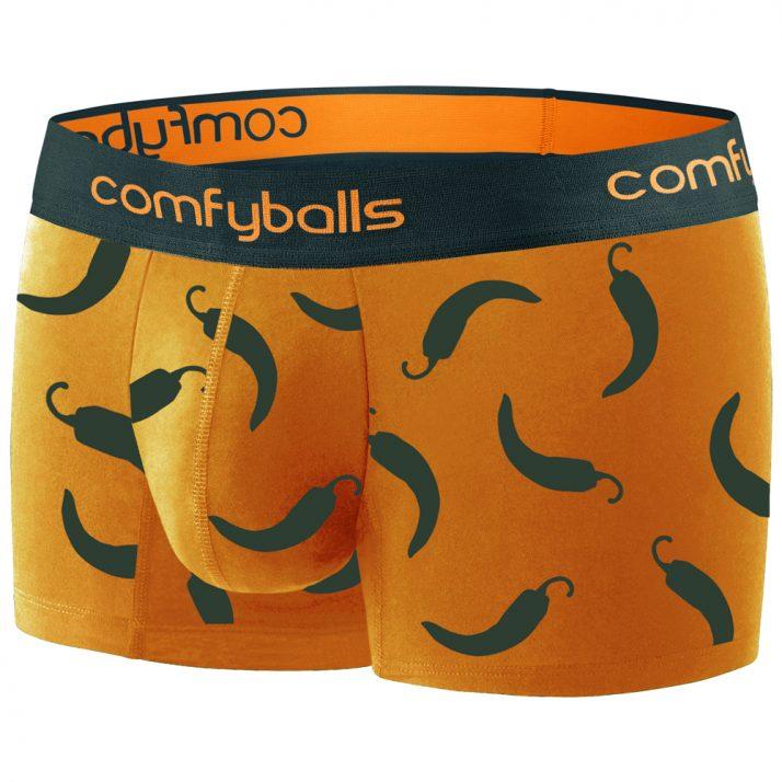 Comfyballs Cotton Regular Boxer Hot Chili