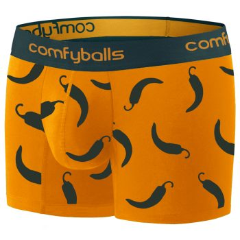 Comfyballs Cotton Long Boxer Hot Chili