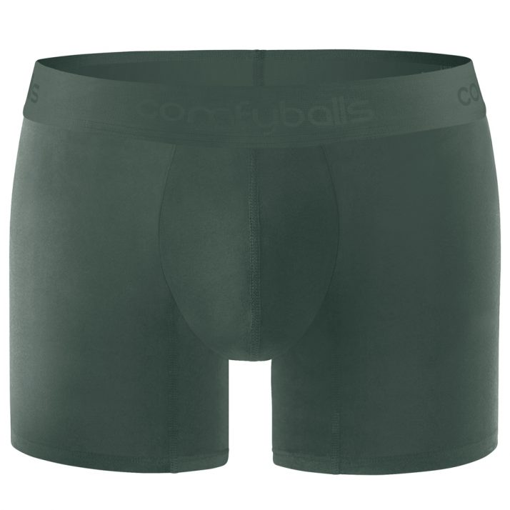 Comfyballs Cotton Long Ghost Moss Forest Boxer