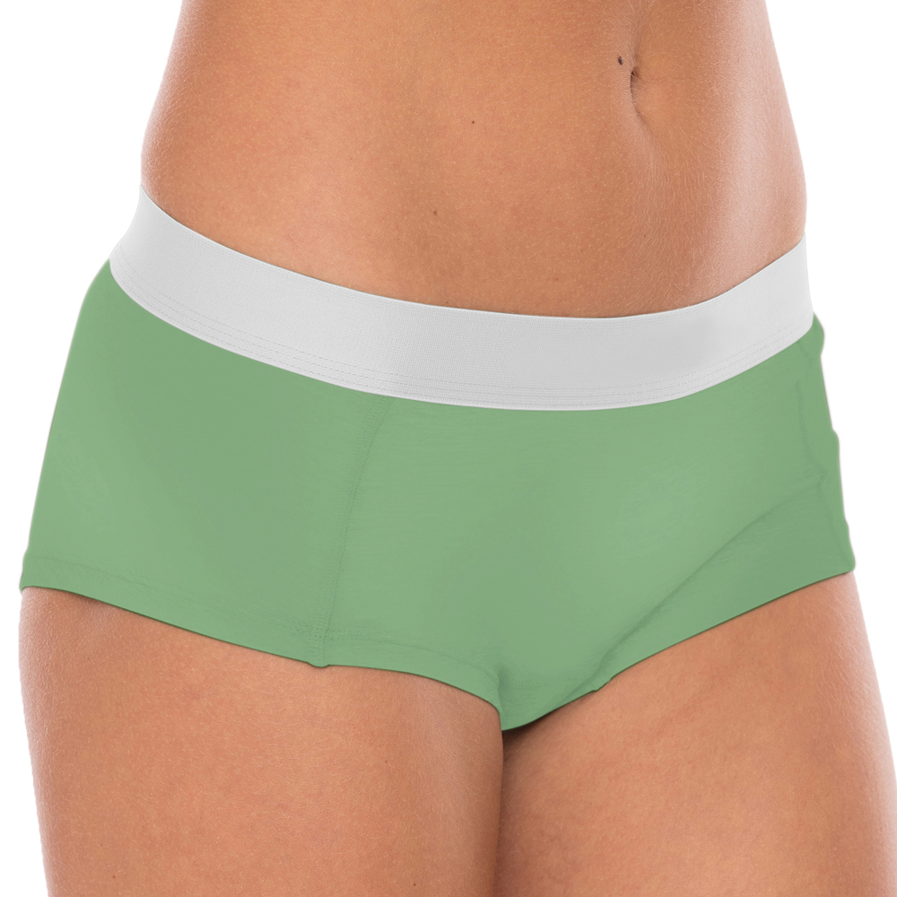 Comfy Womens Hipster Wood Minty