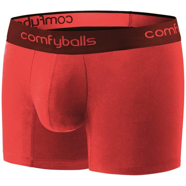 Comfyballs Performance Superlight Long Plasma Red Boxer